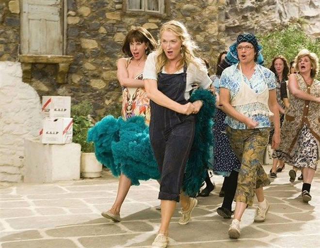 Meryl Streep and the rest of the gang will get you up on your feet and dancing