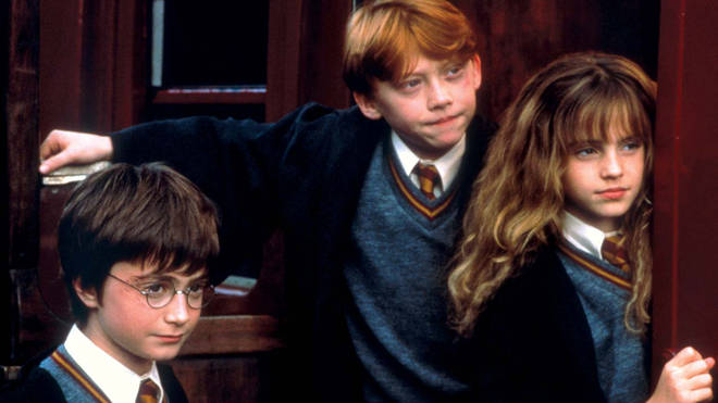Watch young Harry, Ron and Hermione as they attend Hogwarts for the first time