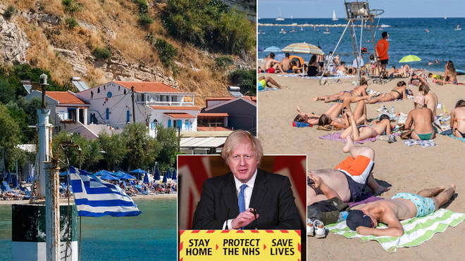 Britain's could make it to Greece this summer