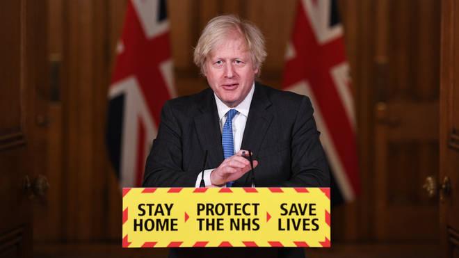Boris Johnson said summer holidays are 'looking hopeful'