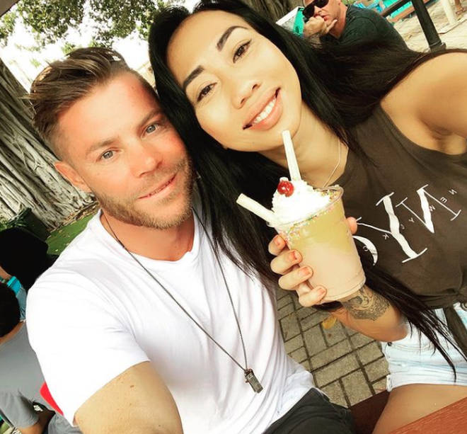 Ning Surasing is now loved up with her boyfriend Kane Micallef