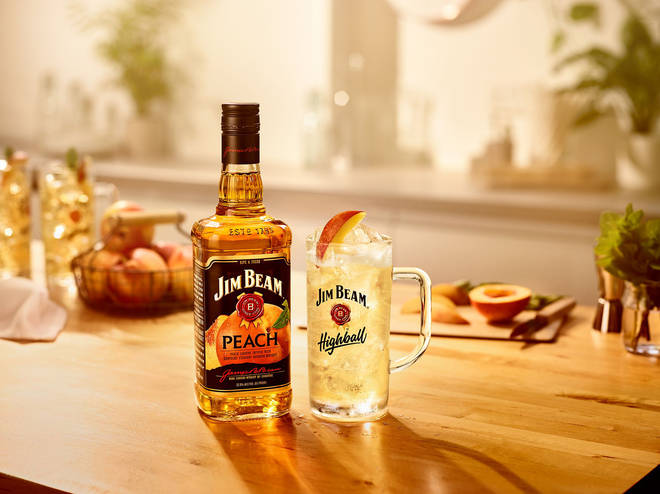 The new Jim Beam is delicious served with tonic and passionfruit syrup