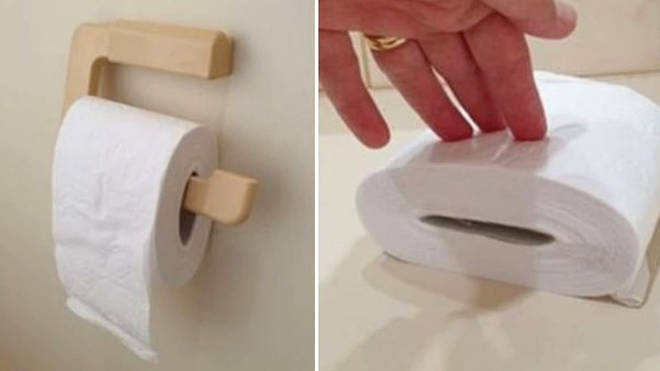 A woman has revealed how she makes her toilet roll last longer