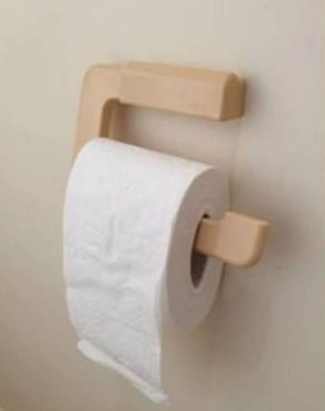 A woman on Facebook revealed she squashes her toilet roll