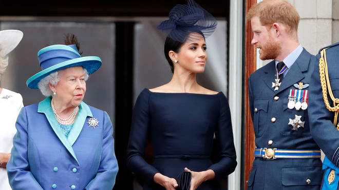 The Queen said the couple remain 'much loved members of the family'