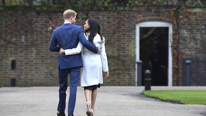 The couple have started a new life in LA since stepping down as senior members of the royal family