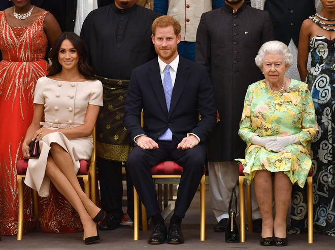 The Queen said the family are 'saddened' by their decision