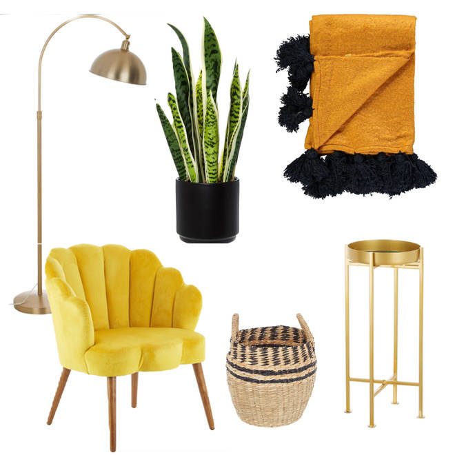 Home accessories from TK Maxx