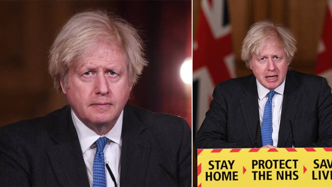 Boris Johnson is speaking at a press conference today