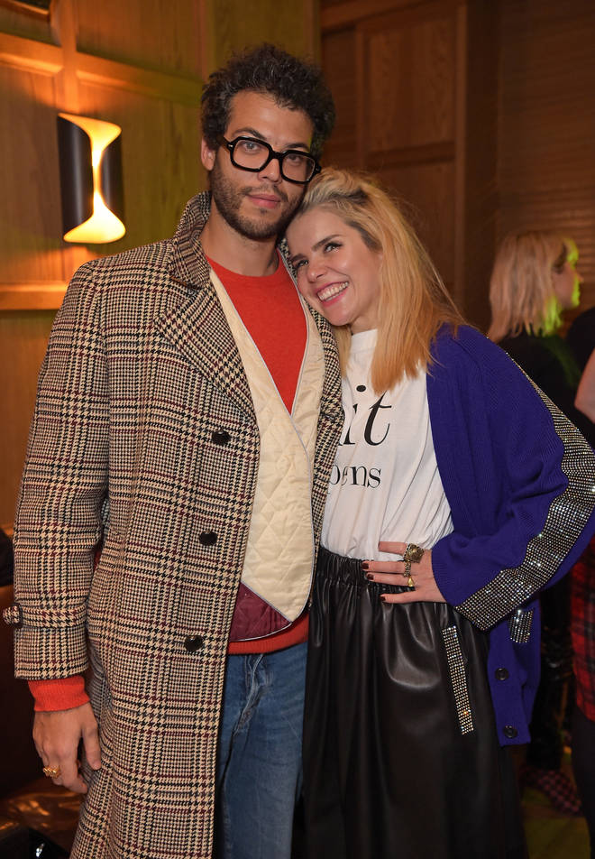 Paloma Faith and her partner Leyman Lahcine.