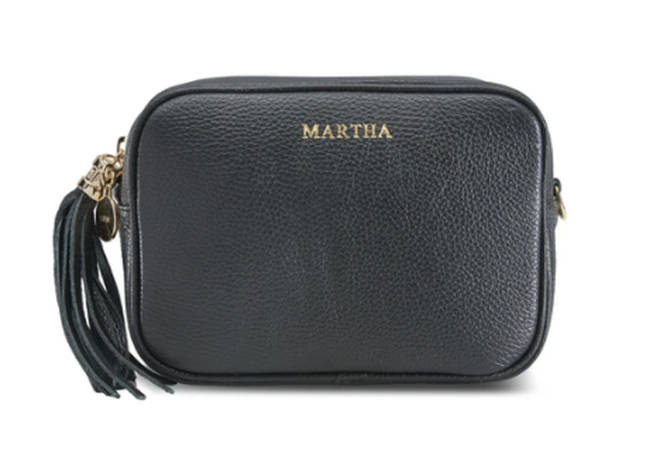 Personalise these beautiful leather bags with your mums name or initials for the perfect Mother's Day gift