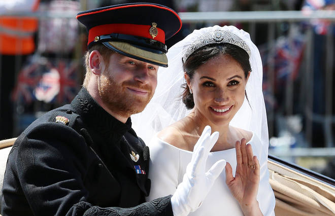 Meghan Markle looked gorgeous when she wed Prince Harry in May 2018