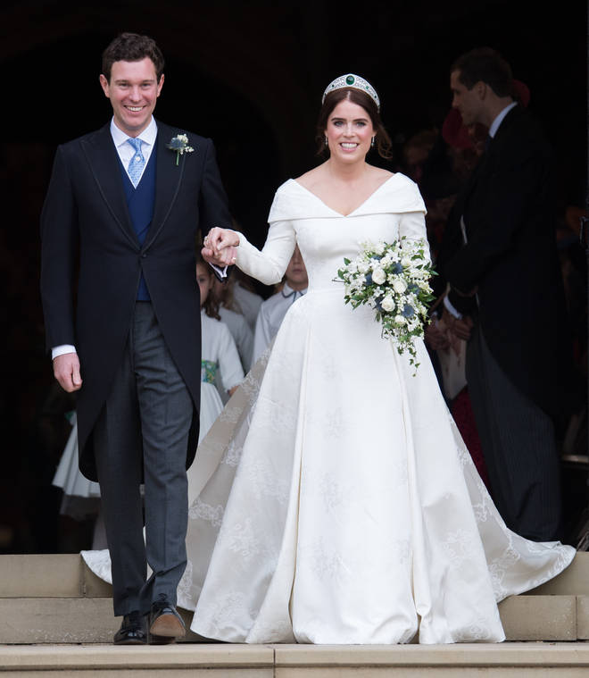 Princess Eugenie married Jack Brooksbank earlier this month