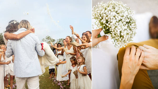 When can weddings happen again? (stock images)
