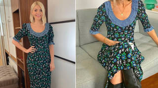 Holly Willoughby's dress is from Rixo