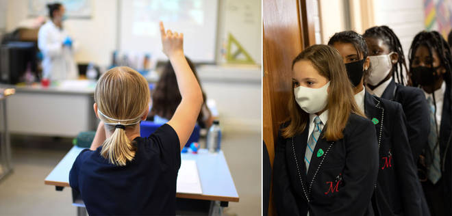 Some secondary schools pupils will be required to wear face masks