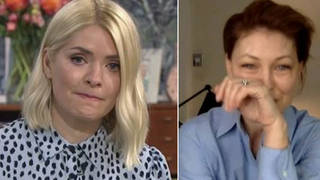 Holly Willoughby and Emma Willis broke down in tears on This Morning yesterday