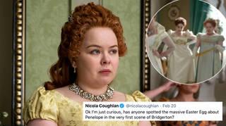 Nicola Coughlan has revealed a Bridgerton 'Easter Egg' clue
