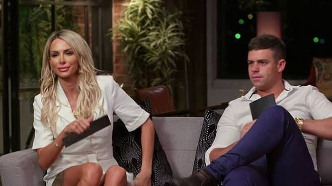 Stacey Hampton and Michael Goonan were matched on MAFS