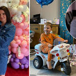 Sue and Noel Radford have spent £90k on their kids' birthdays