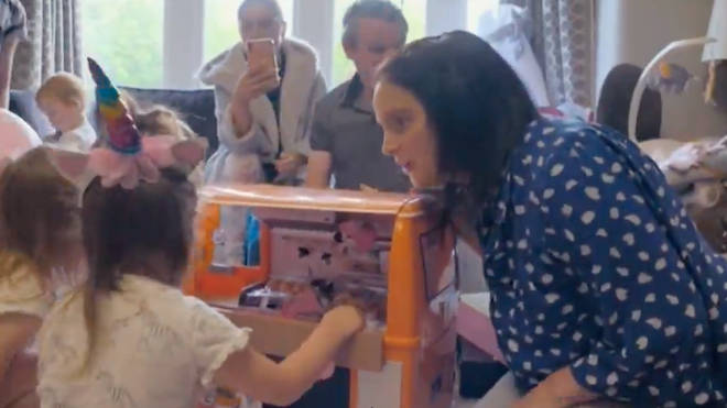 The Radfords spent £350 on Phoebe's birthday