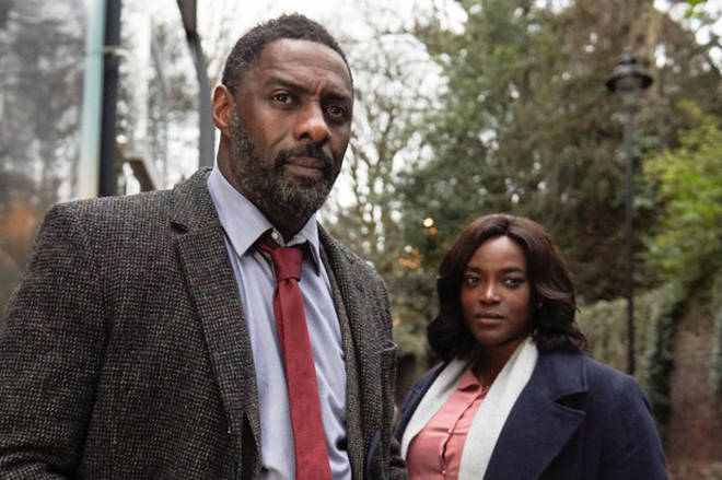 Idris Elba said he was excited to start filming the film adaptation of Luther later this year