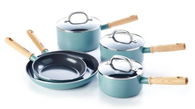 This GreenPan cooking set is a must-have for any food-loving mum