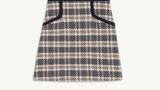 Holly Willoughby's mini skirt is from Sandro Paris