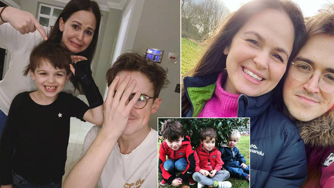Giovanna and Tom Fletcher's son was rushed to hospital