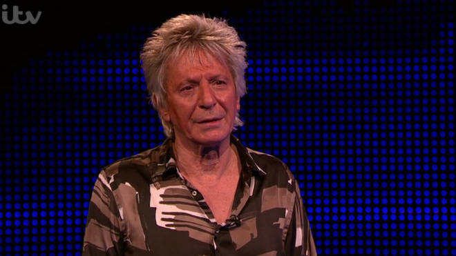 Gerry's resemblance to Rod Stewart could not go unnoticed