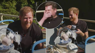 Prince Harry appeared on The Late Late Show with James Corden