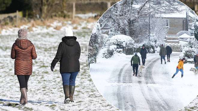 The cold weather is set to return to the UK