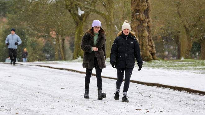 Wintry showers could hit the UK again