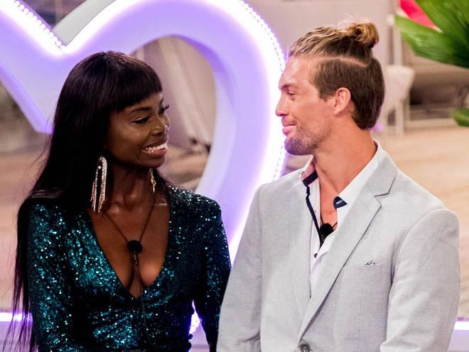 Cynthia Taylu and Aaron Shaw made it to the Love Island Australia final