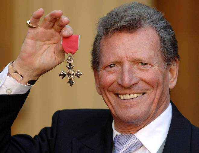 Johnny Briggs was awarded an MBE in 2007