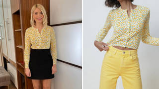 Holly Willoughby's cardigan is from Zara