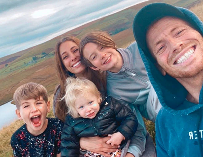 Stacey Solomon want her children and Joe Swash's son to give her away at the wedding