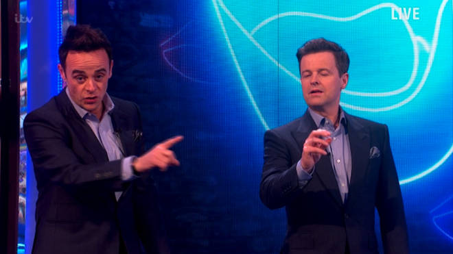 Ant apologised to viewers after Gordon appeared to swear
