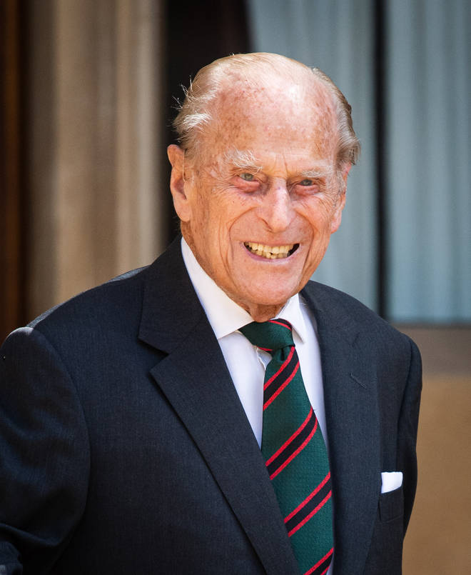 The Duke of Edinburgh was admitted to hospital almost two weeks ago