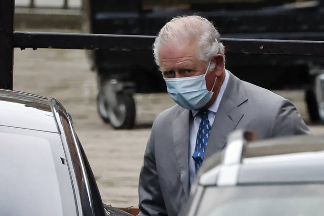 Prince Charles visited his father in hospital last week