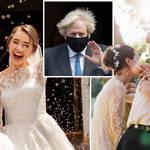 Boris Johnson has spoken out on summer weddings