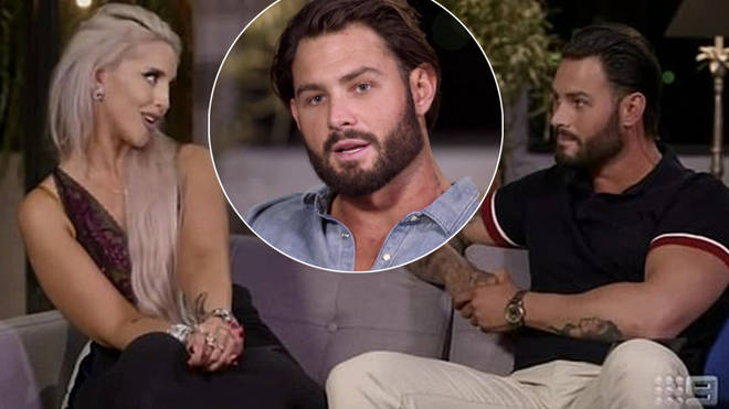 Sam Ball has defended his comments to Lizzie Sobinoff