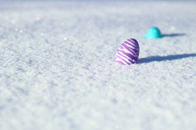 A snowy Easter could potentially be on the cards this year...