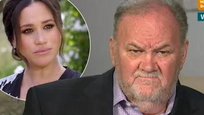 Thomas Markle is Meghan's biological father
