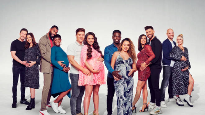 Who is in the Celebrity Bumps cast?