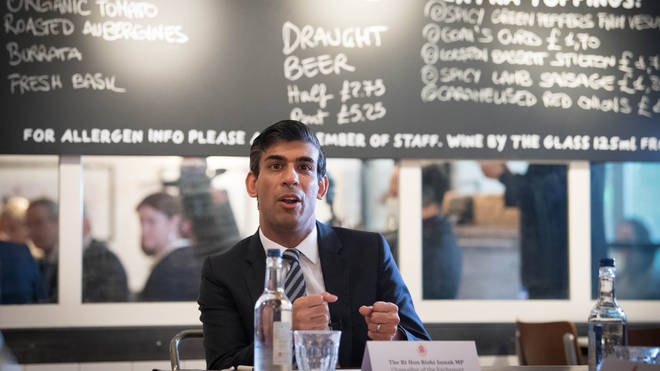 Rishi Sunak is expected to announce support packages for hospitality today