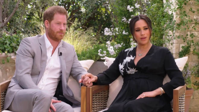Meghan Markle is believed to be around five months pregnant