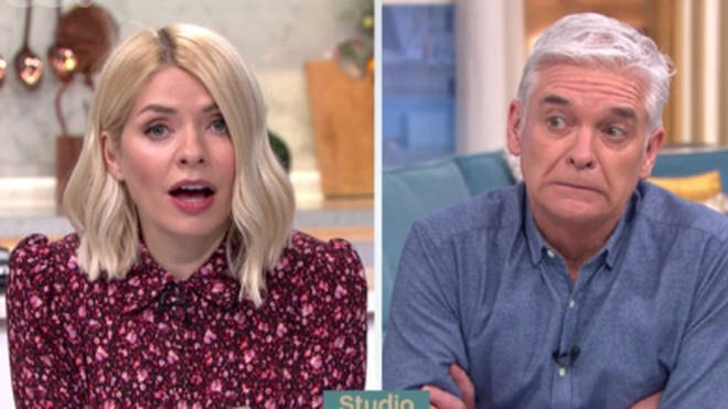 Holly and Phil couldn't believe it when the caller said she wasn't going to attend her son's wedding