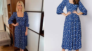 Holly Willoughby is wearing a dress from Coco Fennell