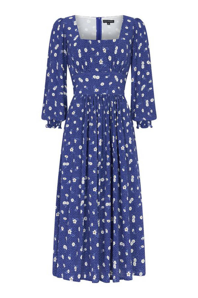 Holly Willoughby's floral dress is from Coco Fennell